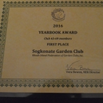 2016 Fall Awards from NEW ENGLAD REGIONAL GARDEN CLUBS